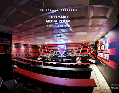 POHANG STEELERS 2020 SEASON MEDIA ROOM RENEWAL DESIGN