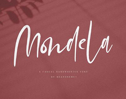 FREE | Mondela A Casual Handwritten Font