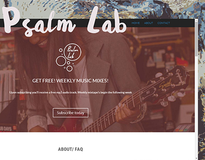 Psalm Lab | Music Play List Project
