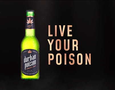 Live your Poison - Durban Poison Lager