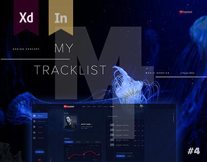MyTracklist - Design Concept