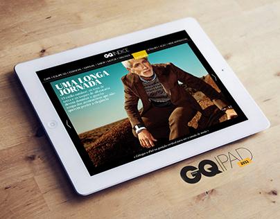 GQ Brazil on iPad
