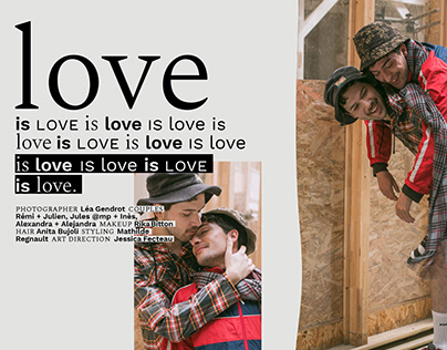 Love is love is love / Editorial