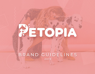 Petopia guidelines and UI design for Web & Mobile App