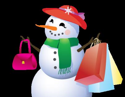 SnowLady Boutique Logo Design
