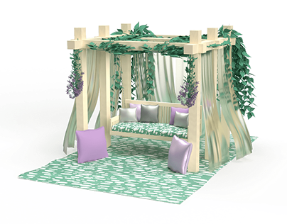 Tropical Backyard Getaway