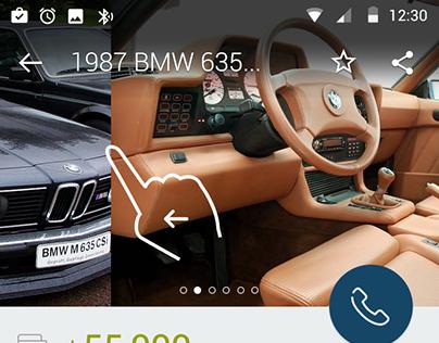 Car finding app