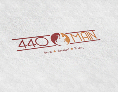 440 Main Logo Design
