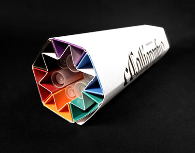 Calligraphy Markers Packaging