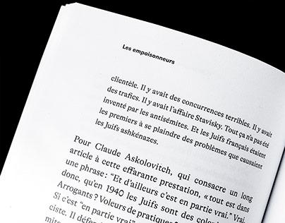 Lettres libres – Interior layout