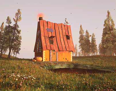 Witch House (UE4)