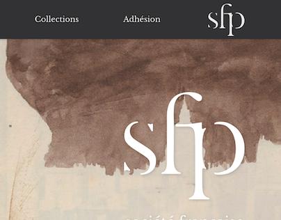 SFP website redesign