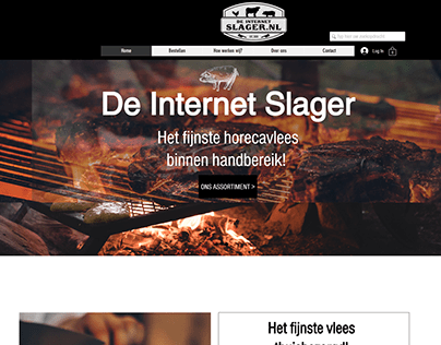 Meat Website Made By WIX
