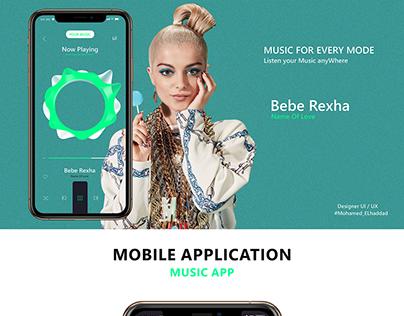UI/UX Design | Music App