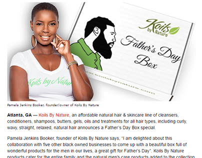 Press Release for Koils By Nature