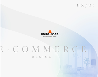 E-commerce UX/UI Design