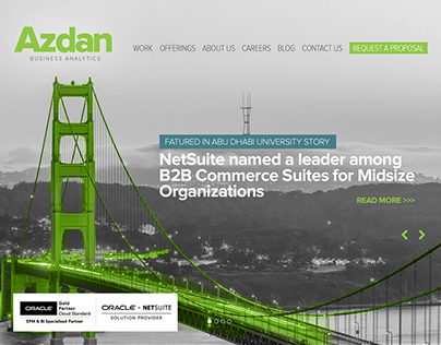 Azdan / Website Design and Development