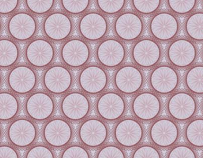 Wireframe Flower Pattern