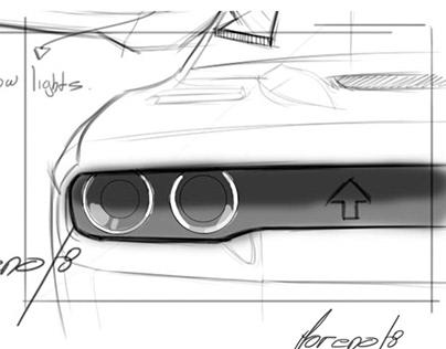 Dodge Challenger SRT Restyling