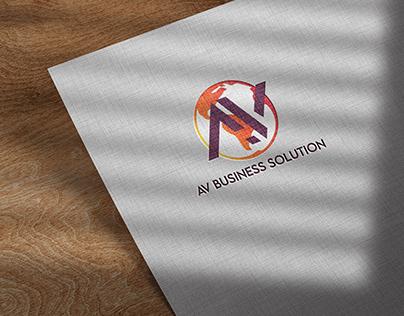 Logo & Branding - AV Business Solutions