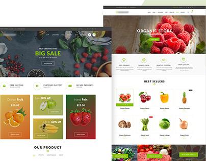 Online Grocery Website Development