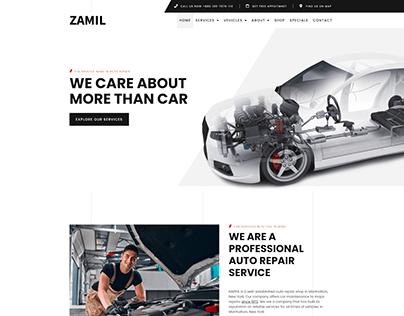 Auto Repair Website Design 2021