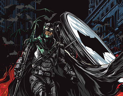 "Alternative poster ""Batman v Superman"""