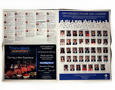 LGC full page advertisement published in Crain's