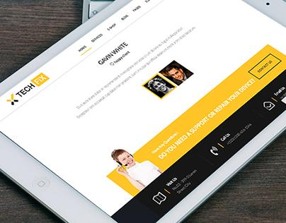 TechFix - Responsive Service Device Repair E-Shop Temp.