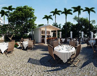 Clover Restaurant- Work at UBIK Architects