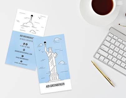 Adi Greenberger - Business Card