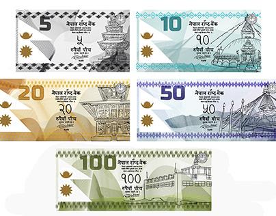 De La Rue, Nepal Banknotes