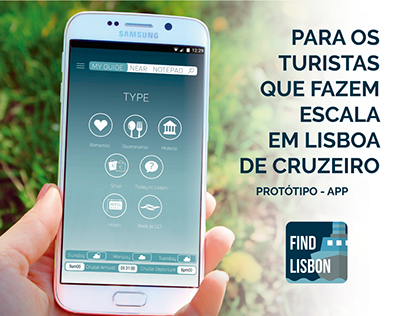 Find Lisbon APP - for cruise tourists