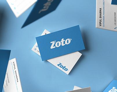 Zoto App Branding