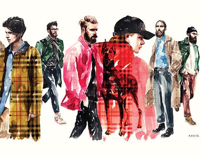 kasiq Fashion Illustration Series 8