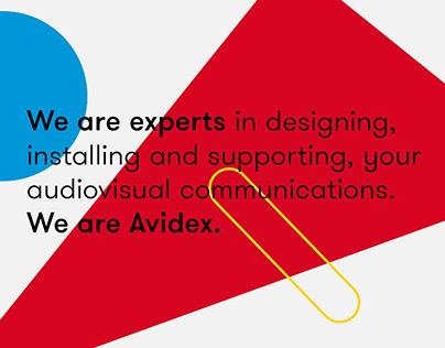 Avidex SA – Brand Identity