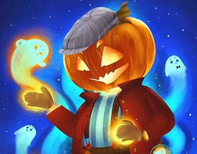 Halloween Characters Design
