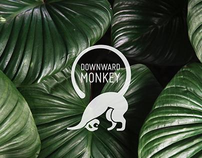 DOWNWARD MONKEY YOGA