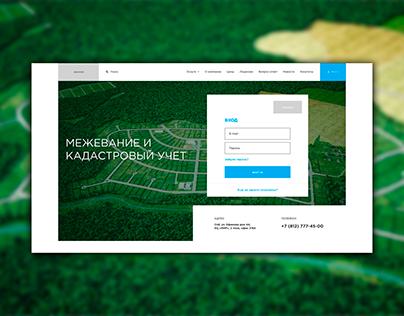 Web UI UX Design for Website | Surveying