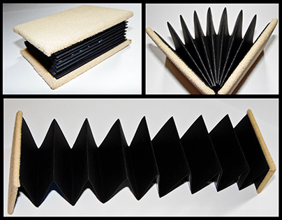 Paper Book Binding - The Accordion Book; Story Telling