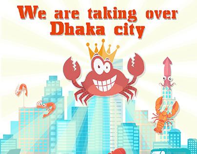 The Holy Crab, Bangladesh.