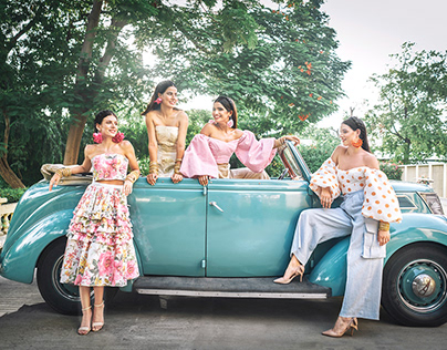 Bambah Boutique : The Pink City SS'18 Collection Part 3