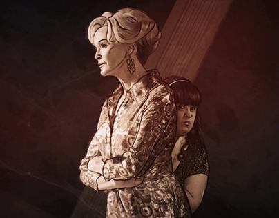 Opening American Horror Story: Murders house