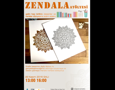 Zendala workshop - İstanbul Design Factory