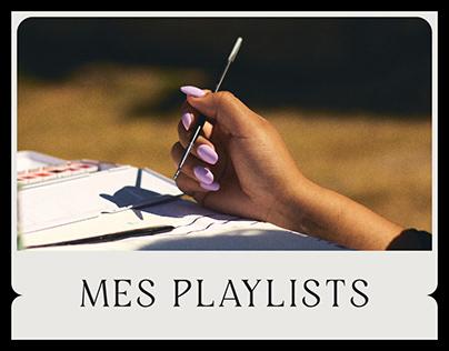 Mes Playlists
