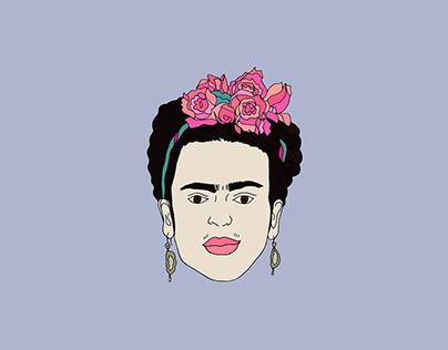 Frida. Stickers Book
