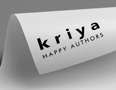 Kriya | ePublishing SAAS Logo & Collateral Design