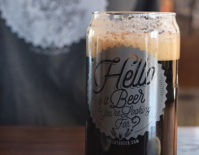 Hello Beer Branding Design