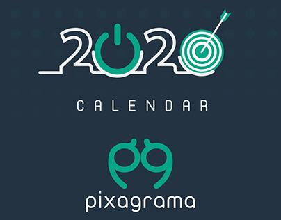 Pixagrama Calendar 2020