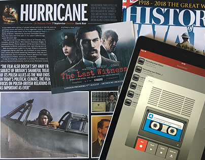 Film reviews & interviews for History of war Magazine